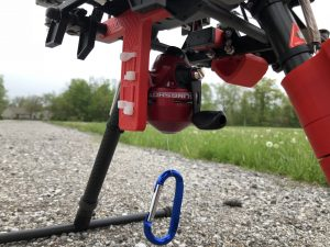 UAV equipped to carry an AED